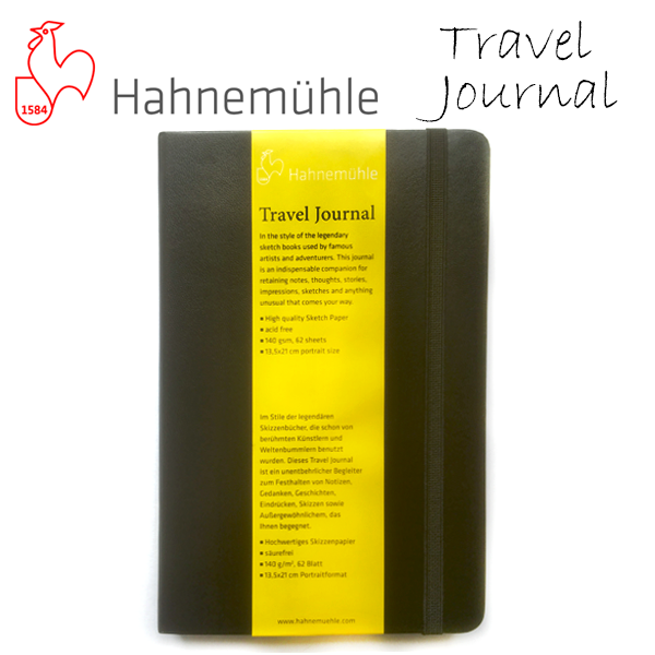 Hahnemuhle Travel Journal Sketchbook