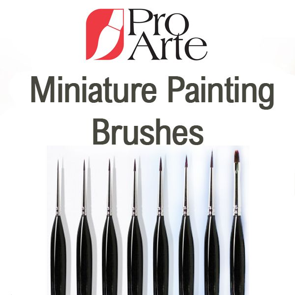 Pro Arte Miniature Painting Brushes
