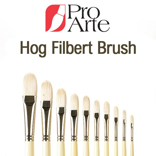 Pro Arte Series B Hog Filbert Brush
